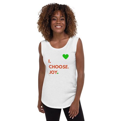 Ladies' Cap Sleeve - I choose JOY - LIMITED EDITION 2020