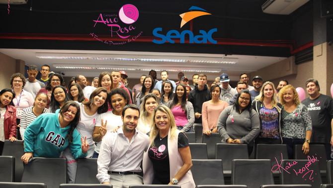 Ano Rosa prevenção do câncer o ano inteiro, presente na ação do Senac Campinas