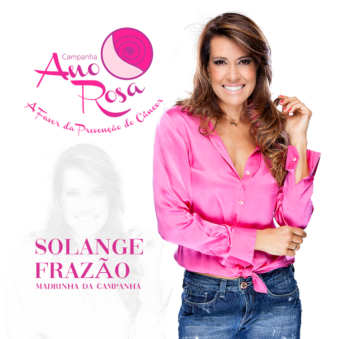 Solange Frazão Madrinha da Campanha Ano Rosa confirma presença em Campinas