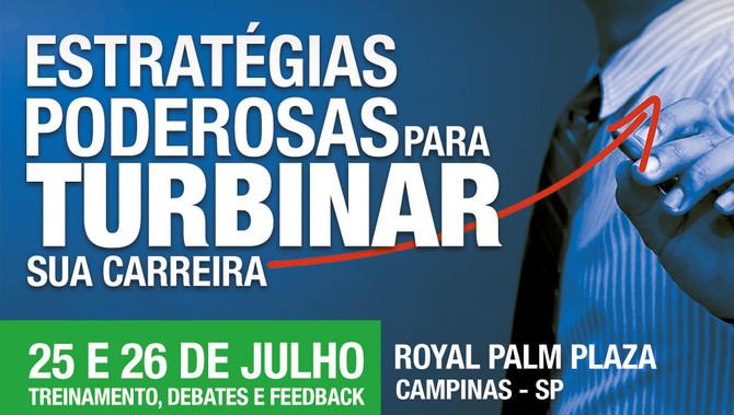 Oportunidade de TURBINAR SUA CARREIRA DE PALESTRANTE!!!