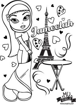 Jameelah in Paris