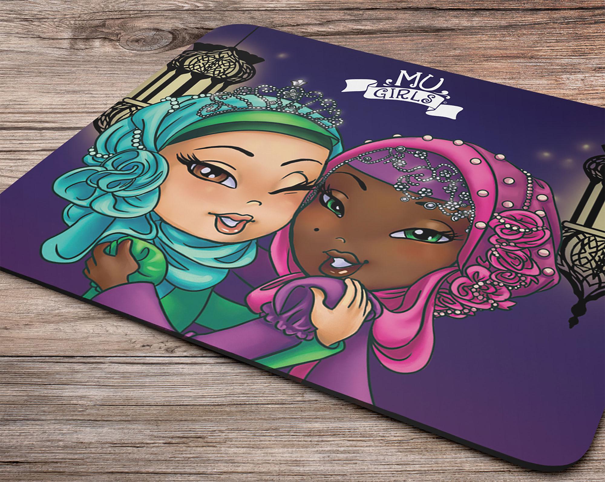 Mina & Habiba Mouse Pad