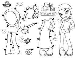 Aisha Paperdoll