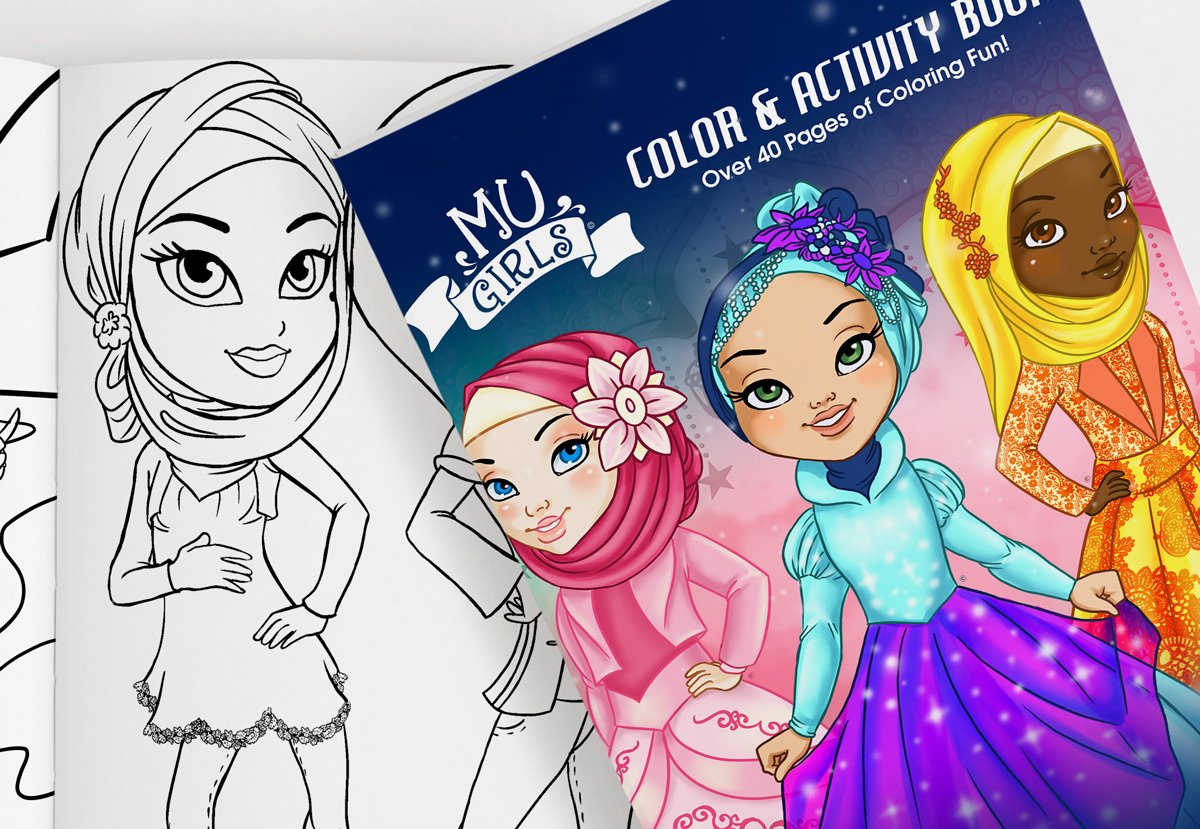 MU Girls Volume 2 Coloring Book