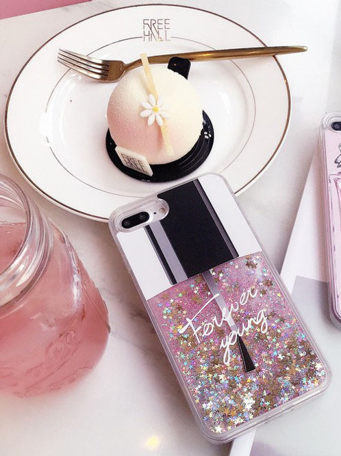 Glitter Polish Phone Case