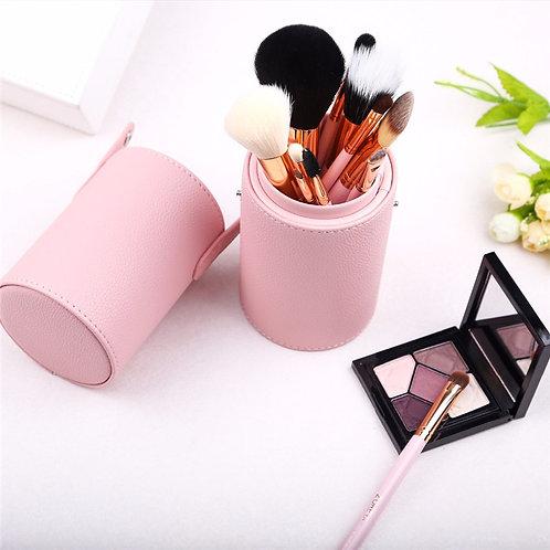 12 PC Professional Makeup Brush Set