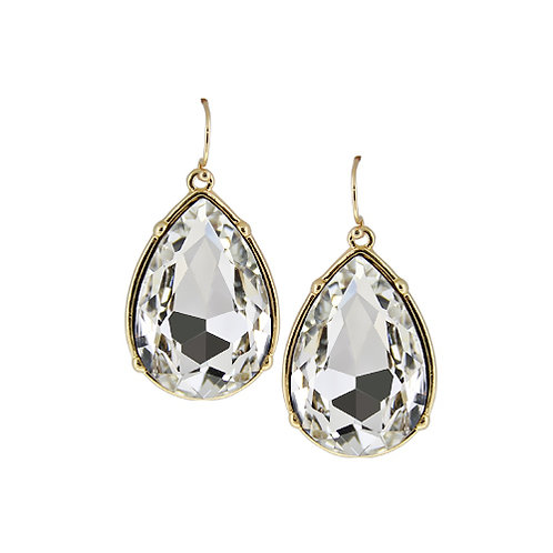 Water Drop Crystal Earring