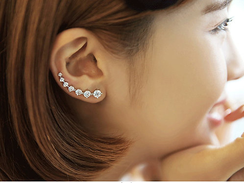 Diamond Trail Earring