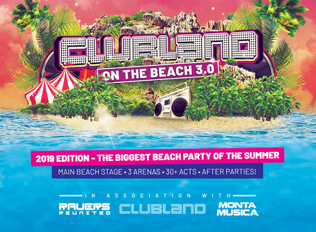 Clubland On The Beach | Friday 26th July 2019