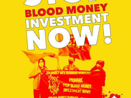 September 11th: Blood Money Day of Action