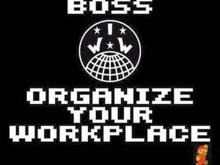 IWW 101 Organiser training