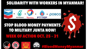 CALL for Global Week of Action: Solidarity with Workers in Myanmar