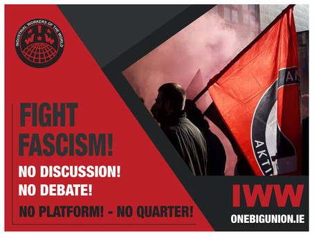 IWW support call to Mobilise against Fascism