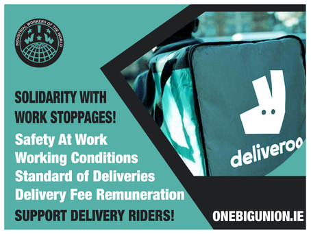IWW Support Riders Work Stoppages!