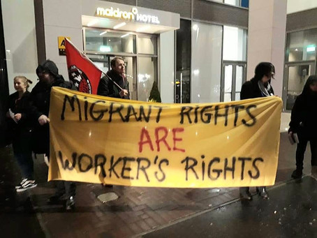 IWW Demand  Migrant Workers Have Immediate & Unrestricted Right to Work