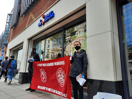 Month of Solidarity Action Continues at Lidl Stores