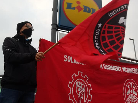 Black Friday Solidarity with Garment Workers