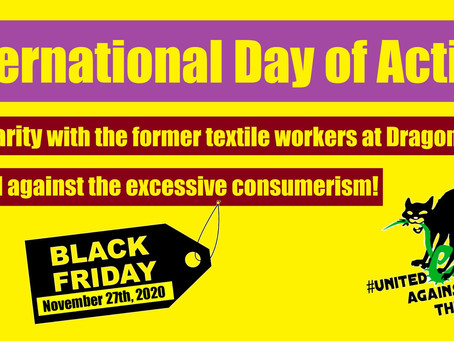 "International Day of Action on ""Black Friday"""