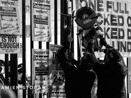 Workers Solidarity Needed To Assist Ex-Debenhams Workers