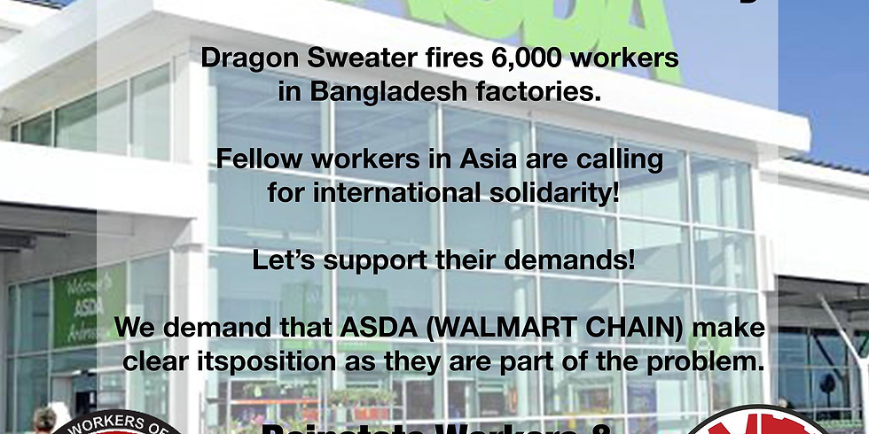 Belfast Solidarity with GWTUC Garment Workers