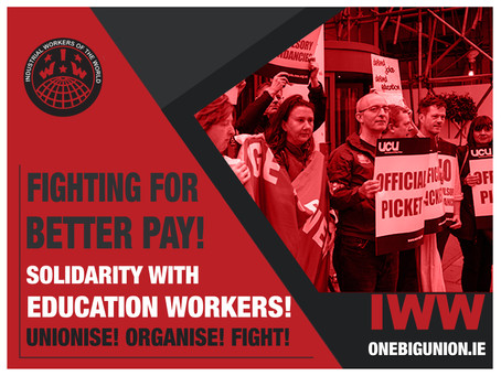 Solidarity with Education Workers!