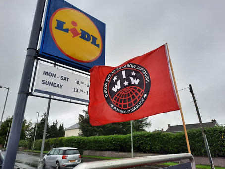 Actions at Lidl Stores in Solidarity with Garment Workers