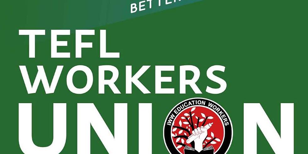 TEFL Workers Leaflet Distribution