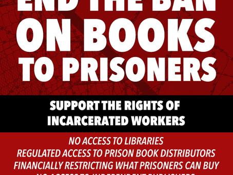 Call for NIPS to End Ban on Books in Prison