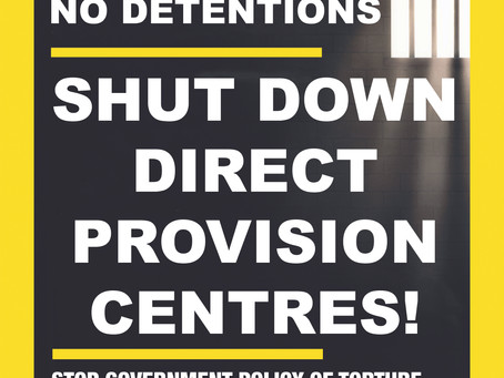 Call Out Institutional Racism: End Direct Provision Now!