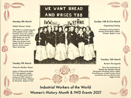 IWW Women's History Month & International Women's Day 2021