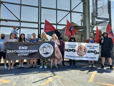 Prison Protest: Discrimination Has To End