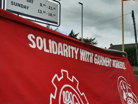 Protests to Continue at Lidl Stores in Solidarity with Garment Workers