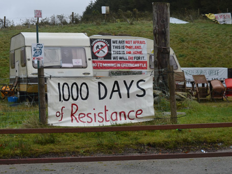 Community Celebrates 1000th Day of Resistance Against Toxic Gold Mining Giant Dalradian