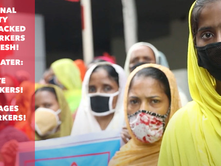 Solidarity with Garment Workers: We Think You Need To Know