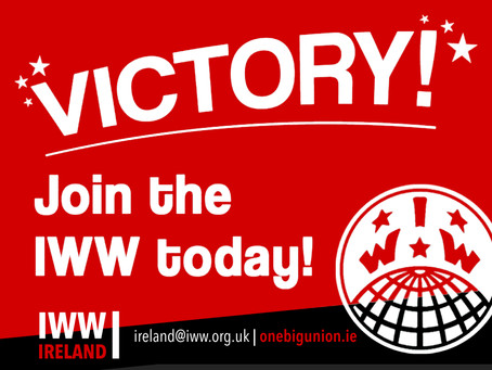 IWW (Ireland) reaches settlement with English teaching agency in the first case of its kind