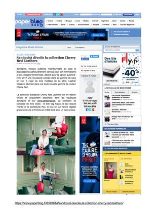 Paperblog.fr Sandqvist - October, 29th 2