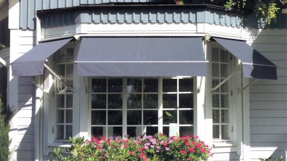 Fönstermarkiser - Tidö