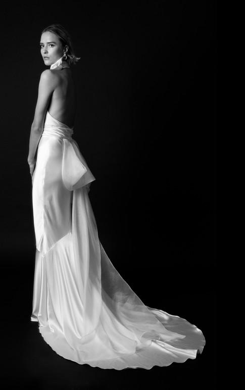Christina Devine Bridal_Celine gown_BW_b