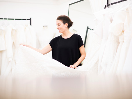 8 tips for your first wedding dress appointment