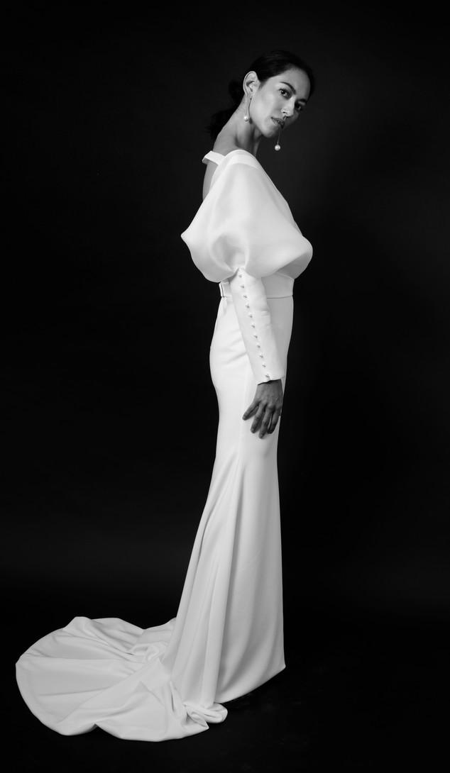 Christina Devine Bridal_elle gown_side v