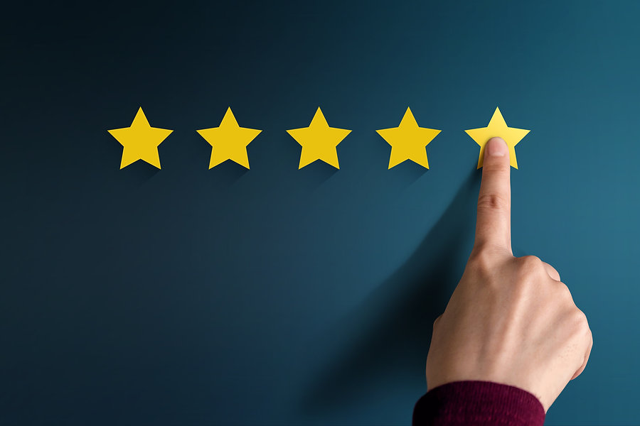 Customer Experience Concept, Best Excellent Services Rating for Satisfaction present by Ha