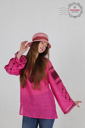 Loose & Lovely Merlot on Pink