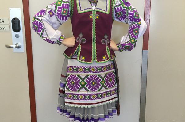 Volyn costume by Postmark Ukraine