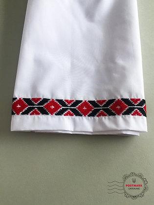 Geometric Embroidered Slip