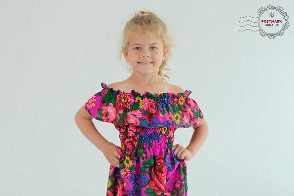 Khustyna Off-the-shoulder Summer Dress