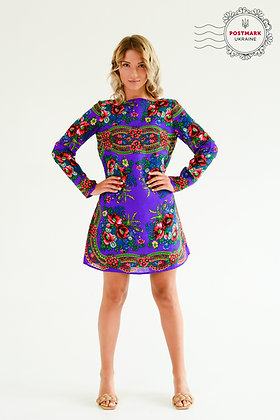 Khustyna Mid-length Flare Dress