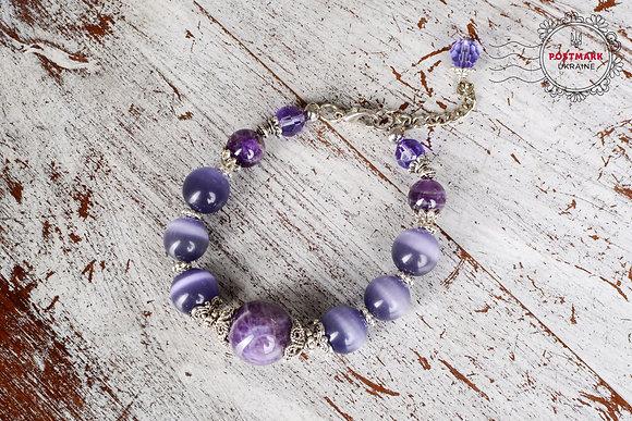 Lovely Lavender Bracelet