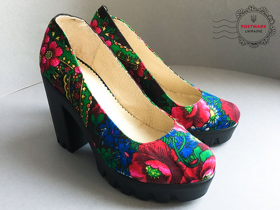 Khustyna Wedge Heel