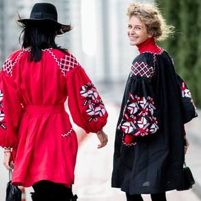 Мода на вишиванки в Україні