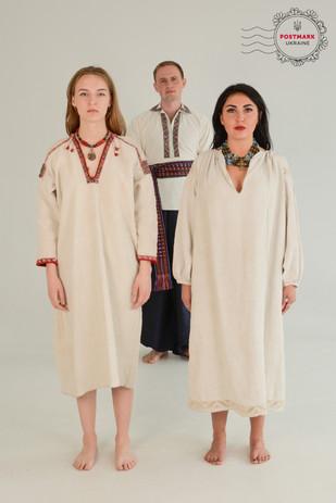 Vintage Ukrainian Dress